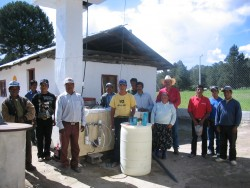 Group with water purifiter